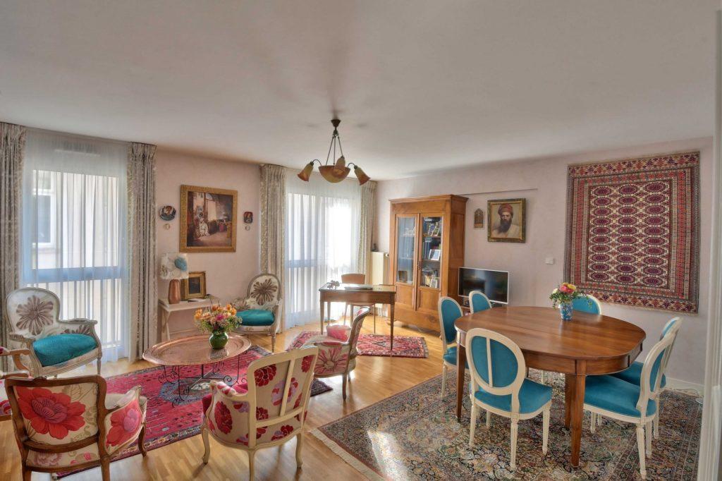 Appartement salon - salle à manger Lyon 69006 place puvis de chavannes Vente immobilier