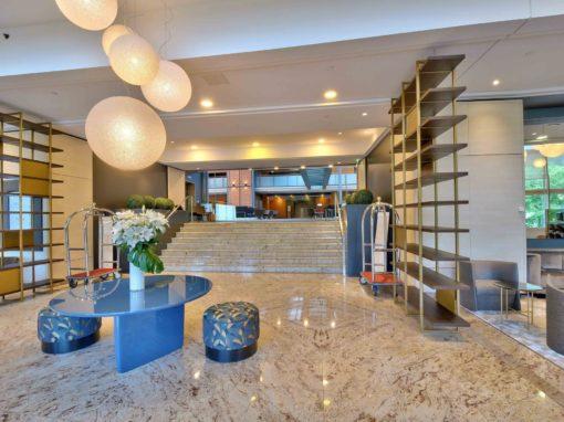 Photos de biens immobiliers : intérieur hôtel Mariott Lyon 69006 cité internationale