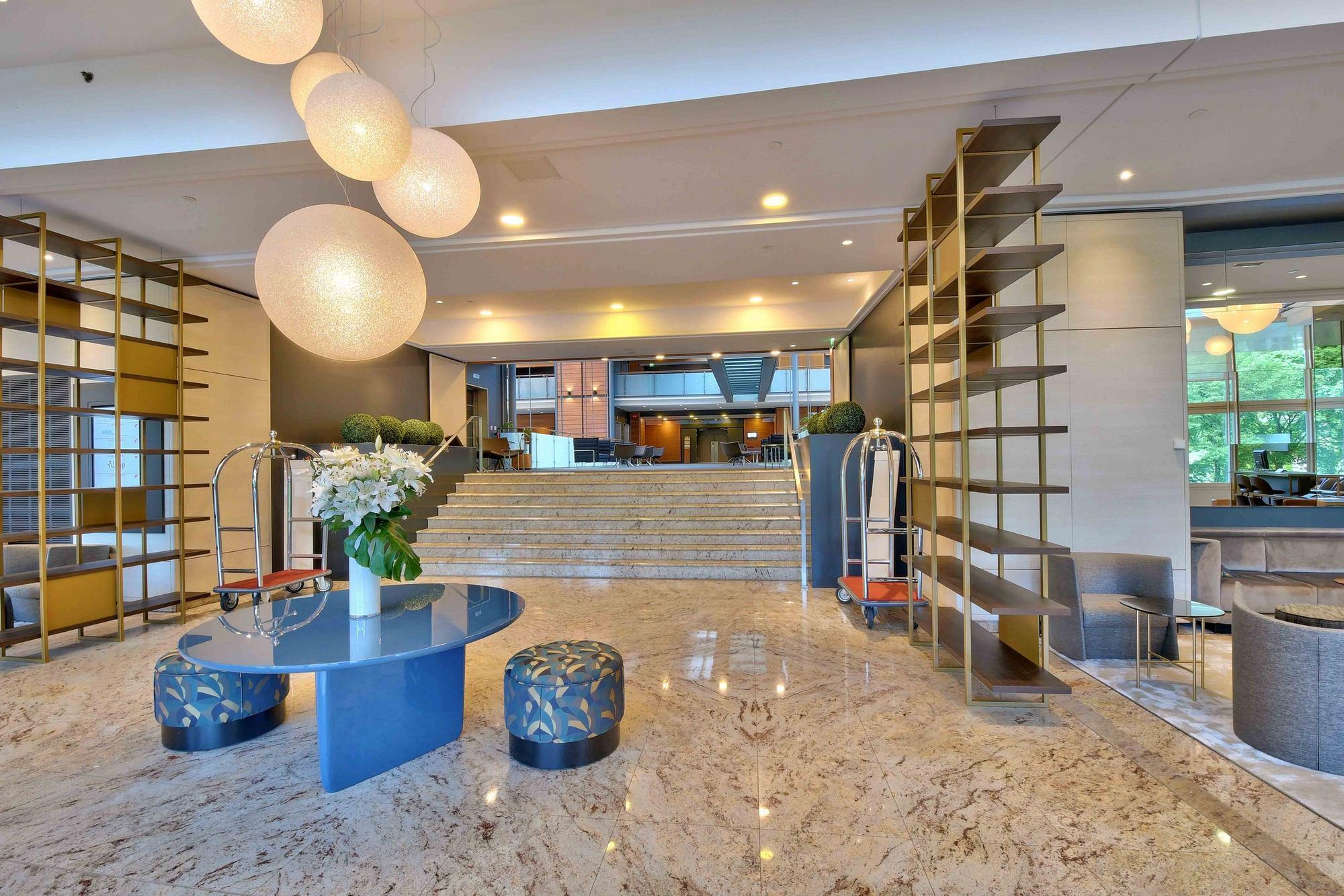 PHOTOS IMMOBILIER Marriott Accueil Hotel Cité Internationale Lyon 69006