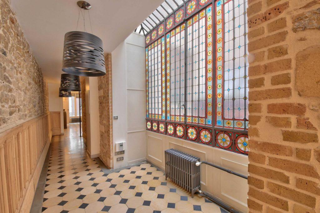 PHOTOS IMMOBILIER Villefranche sur Saône 69400 Appartement couloir Rue nationale