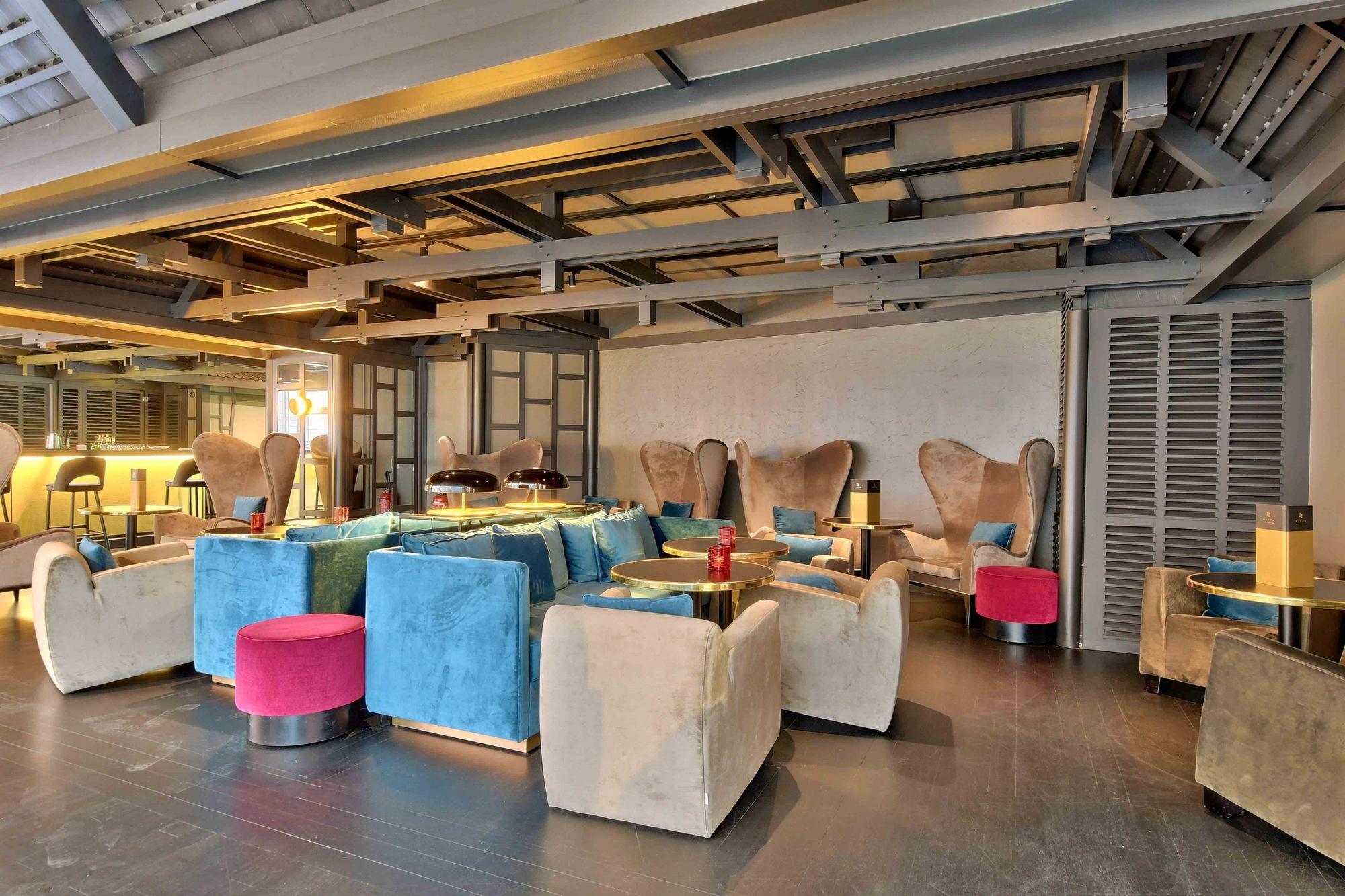 PHOTOS hôtel Marriott salon Cité Internationale Lyon 69006