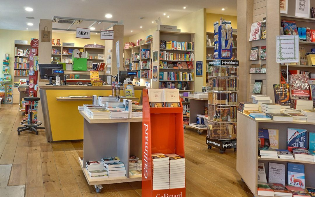 Visite virtuelle de la librairie LA MAISON JAUNE à Neuville sur Saône