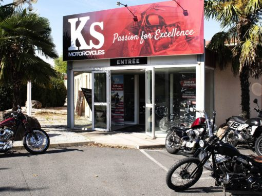 Photos pour la visite virtuelle du magasin de motos KS Motorcycles à 69480 Ambérieux